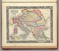 1860 Map Of The Austrian Empire, Italian States, Turkey In Europe and Greece.jpg
