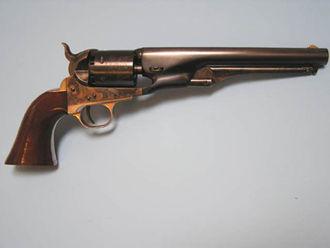 Colt M1861 Navy - 1861 Navy, second generation