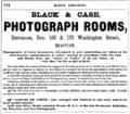 1866 Black and Case advert Washington Street Boston USA.png
