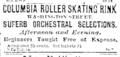 1885 Columbia RollerSkatingRink BostonEveningTranscript Feb14.png