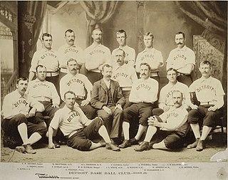 1887 Detroit Wolverines season Major League Baseball season