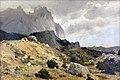1889 Shishkin Felsige Landschaft anagoria.JPG