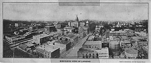 Lansing, Michigan, in 1890