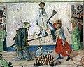 1891 James Ensor Squelette se disputant un pendu.jpg