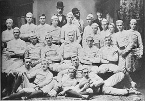 1892 spring first Auburn Tigers football team.jpg