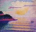 1896 Cross Sonnenuntergang über dem Meer anagoria.jpg