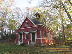Bournedale Village School - Image: 1897 Bournedale School House, Bournedale MA