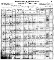 1900 census Washington