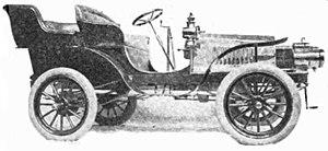 Spaulding (automobile) - 1903 Spaulding Touring Car