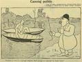 1908- Take Ionescu caricatura din revista Furnica, la infiintarea PCD.PNG