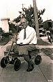 1926. F. Paul Keen in express wagon. (37166690901).jpg