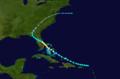 1928 Atlantic hurricane 1 track.png