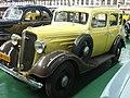 1935 Chevrolet 4-door Saloon at The Outeniqua Railway Museum.jpg