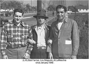 Lou Maguolo - Image: 1946 01(Baseball Trip With Maguolo+Farmers 01)