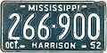 1952 Mississippi License Plate.jpg