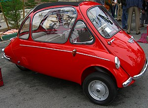 1963 Trojan 200 version of Heinkel bubble car....