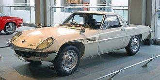 Mazda Cosmo - Image: 1968 Mazda Cosmo Sport 01