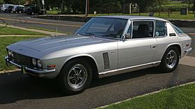 1971 Jensen Interceptor MkII, front left (USA).jpg