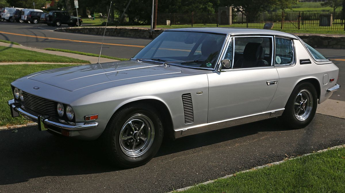 Ford F Interior >> Jensen Interceptor - Wikipedia