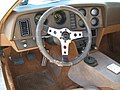 1974 Bricklin 4 speed white at Potomac Ramblers meeting 04.jpg