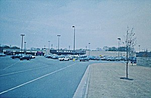 History of Walmart - A Wal-Mart store in the 1980s.