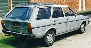 Volkswagen Passat - VW Passat Variant LS 1980 (Australia)