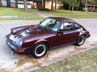 Rag & bone - This 1983 Porsche 911SC is similar to the 1979 model destroyed in the brand's FW15 campaign.