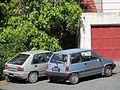 1986 Honda City and 1988 Mitsubishi Mirage Geneva 16353145836).jpg