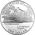 1990 Eisenhower Silver $1 Reverse.jpg