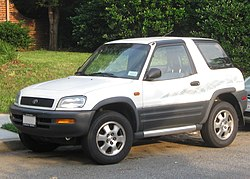 1996–1997 Toyota RAV4 2-door (US)