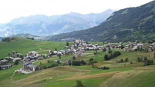 Albiez-Montrond Commune in Auvergne-Rhône-Alpes, France