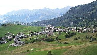 Albiez-Montrond - A general view of Albiez-Montrond