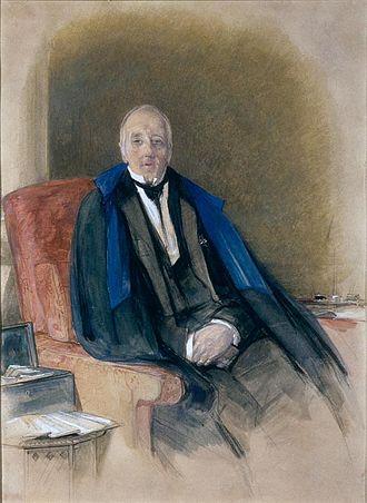 John Ponsonby, 1st Viscount Ponsonby - Lord Ponsonby in a painting by John Frederick Lewis, 1841.