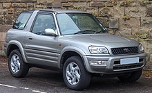 Facelift Toyota Rav4 3 Door