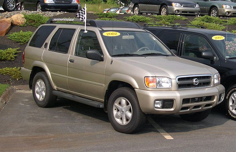 File 2002 Nissan Pathfinder Jpg Wikimedia Commons