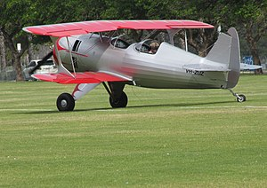 2003 Amateur Built Aircraft Culp Special at the SAAA Langley Park Fly-in October 2011 (1).jpg