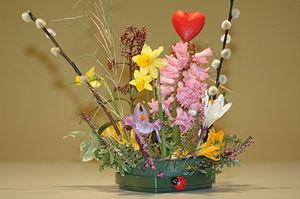 English: Floral arrangement
