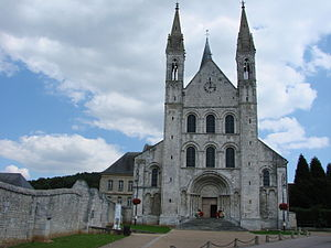 Abbey of Saint-Georges, Boscherville - Abbey church