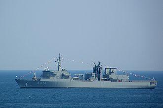 Etna-class replenishment oiler - Image: 200700702 Faliron HS Promitheus A374