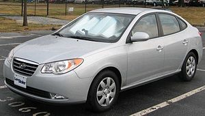 2007 Hyundai Elantra photographed in College P...