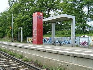 Halle–Vienenburg railway - Image: 2007 Teicha 03