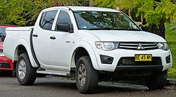 2009–2011 Mitsubishi Triton GL-R 4-door utility, Australia