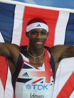Phillips Idowu British triple jumper
