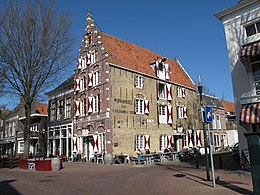 Edificio classificato come rijksmonument a Harlingen