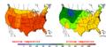 2010-07-24 Color Max-min Temperature Map NOAA.png