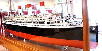 SS Cap Arcona - Scale model of Cap Arcona
