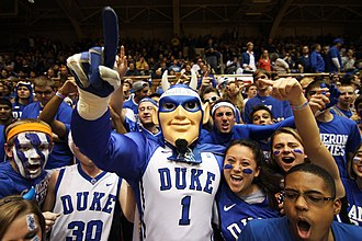 Cameron Crazies -  At the 2013 Duke–Michigan game