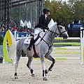 2013 Longines Global Champions - Lausanne - 14-09-2013 - Alexandra Paillot et Regina de Chamant 1.jpg
