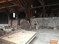 2014-07-28 13 27 55 Interior of the mill building in Berlin, Nevada at Berlin-Ichthyosaur State Park.JPG