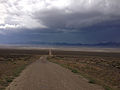 2014-07-28 13 39 14 View southwest from the entrance to Berlin-Ichthyosaur State Park, Nevada.JPG